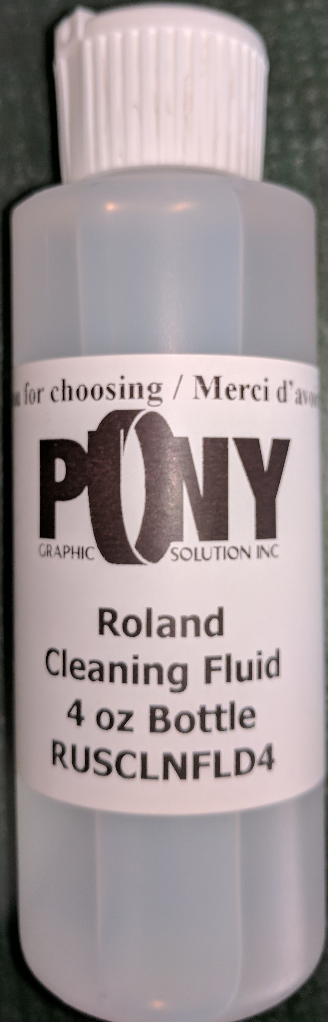 RolandCleaning Fluid InkJet 4 oz