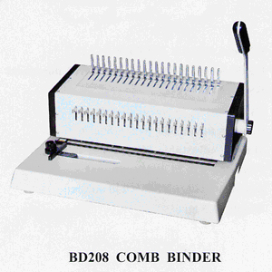BD 208 Metal Comb Binder