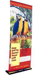 PGSI Roll Up Banner Stand 32'' x 80''